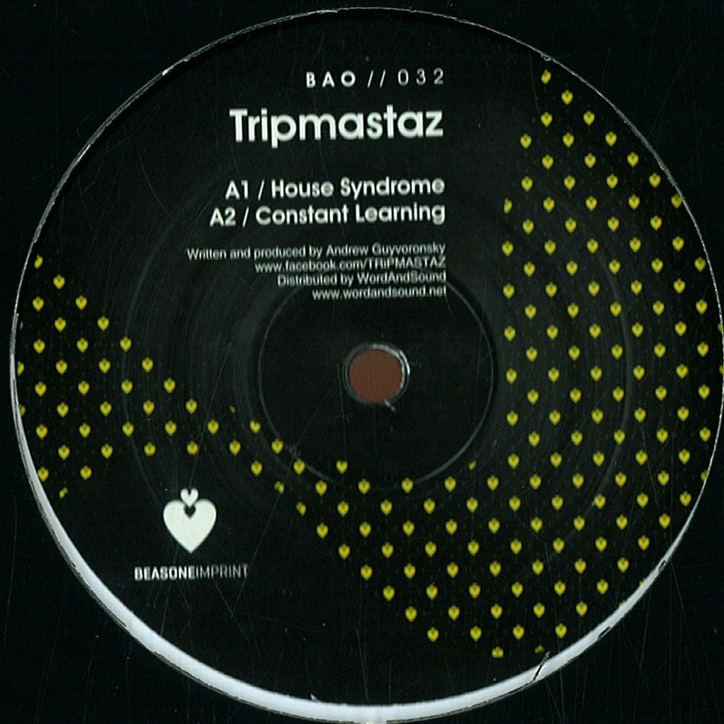 Tripmasterz – House Syndrome EP (Be As One)