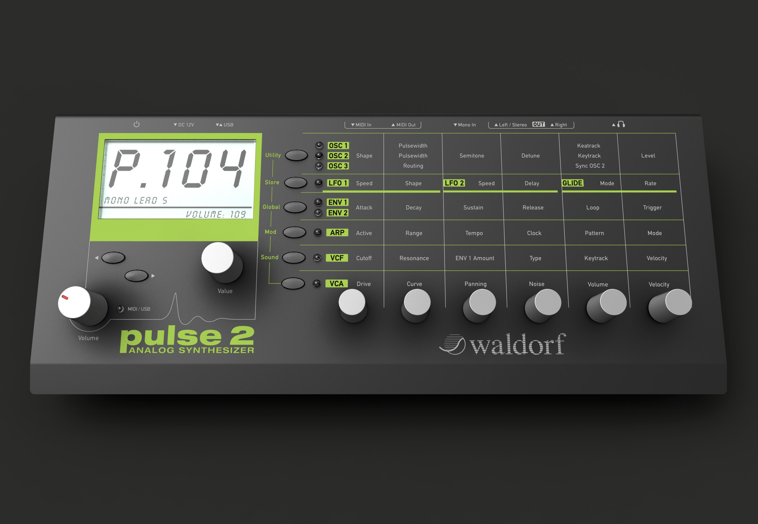 And the bleep goes on! Waldorf Pulse 2