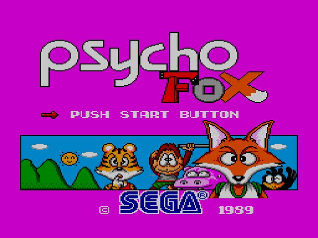 Perc und sein Lieblingsspiel: Psycho Fox (Sega)