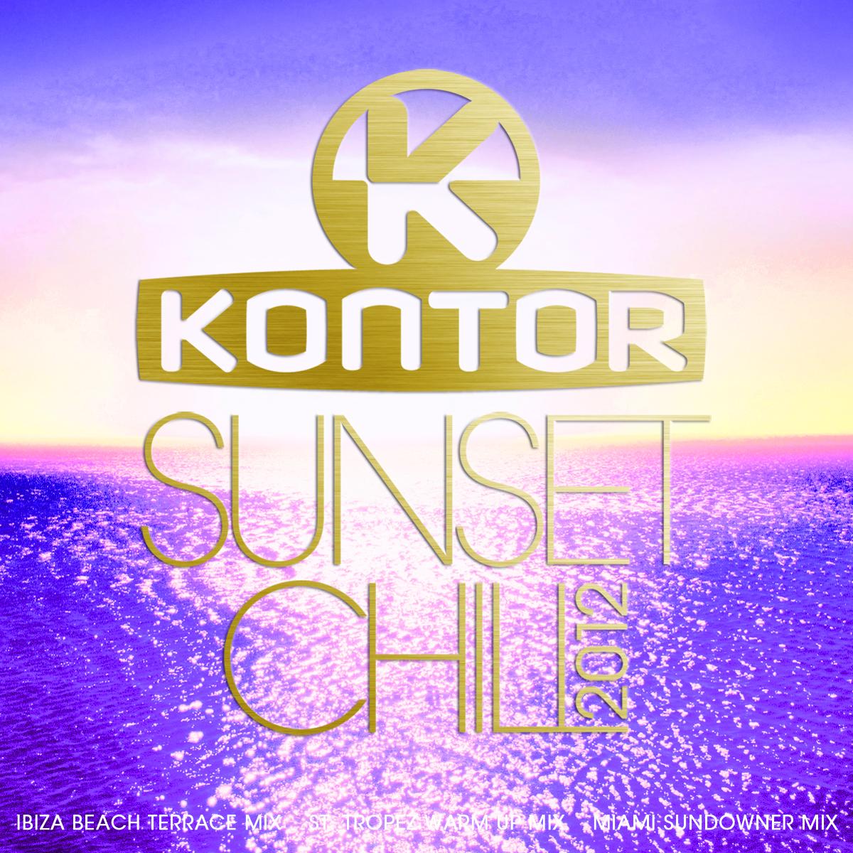 Kontor Sunset Chill 2012 – Entspannte Beats für das richtige Summerfeeling