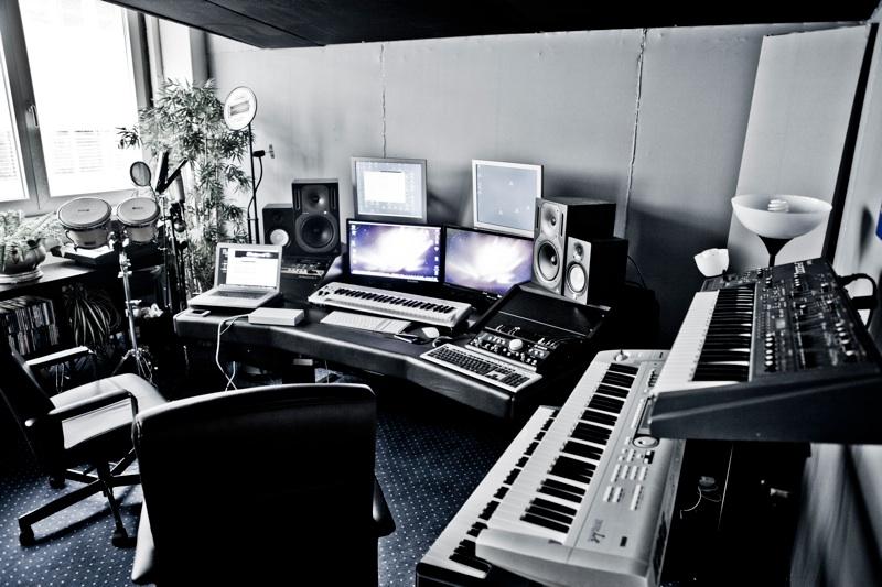 Im Studio mit EDX