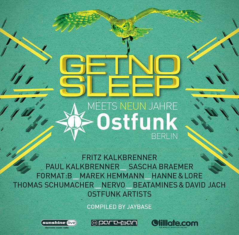Schlaflos in Berlin: Get No Sleep meets Ostfunk (9 Years)