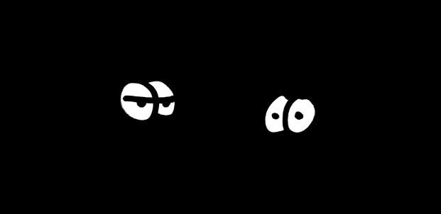 Gubis eher nicht so dolle DJ-Karikaturen: Tiefschwarz vs. The Black Dog