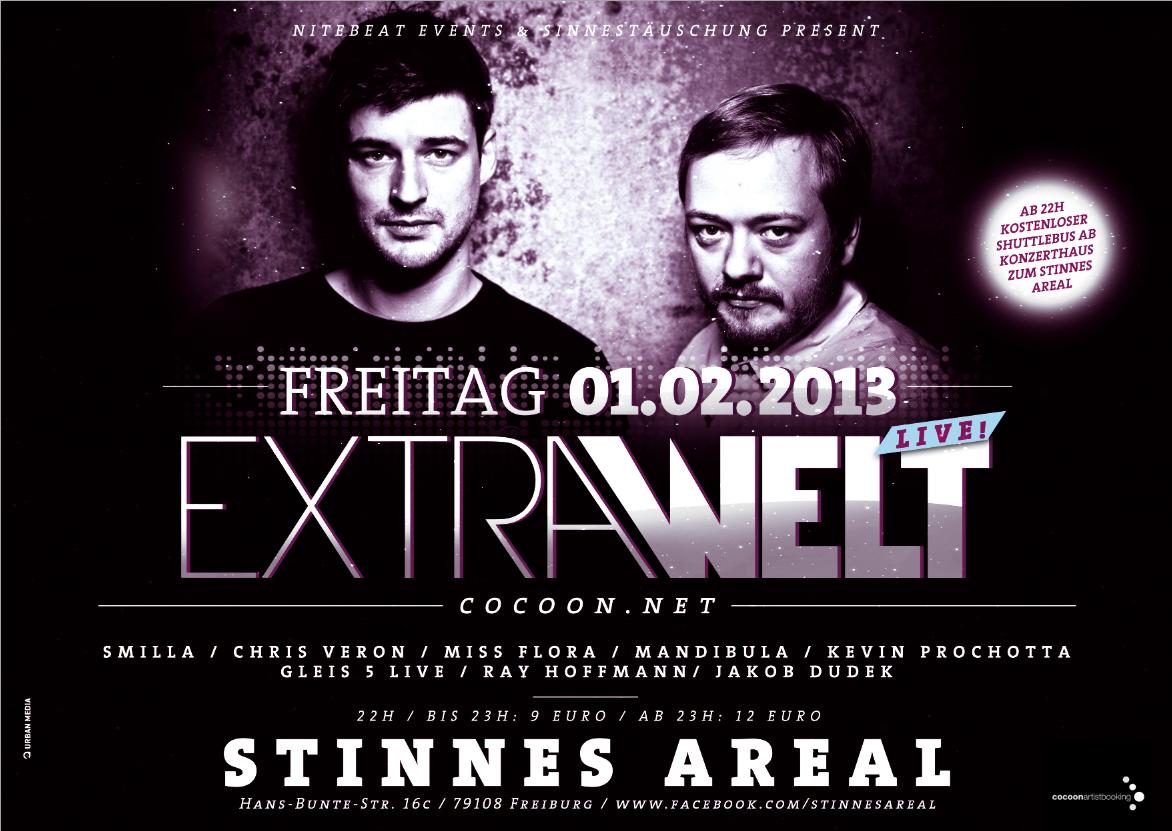 Extrawelt läutet in Freiburg den Februar ein.