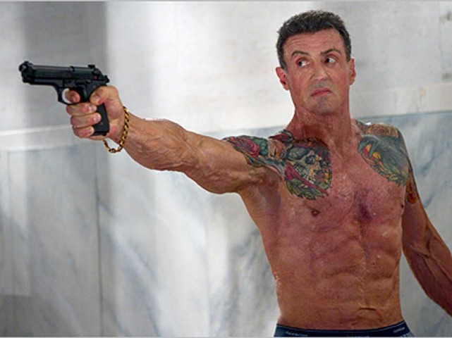 """Stallone is back with a """"Shootout"""""""