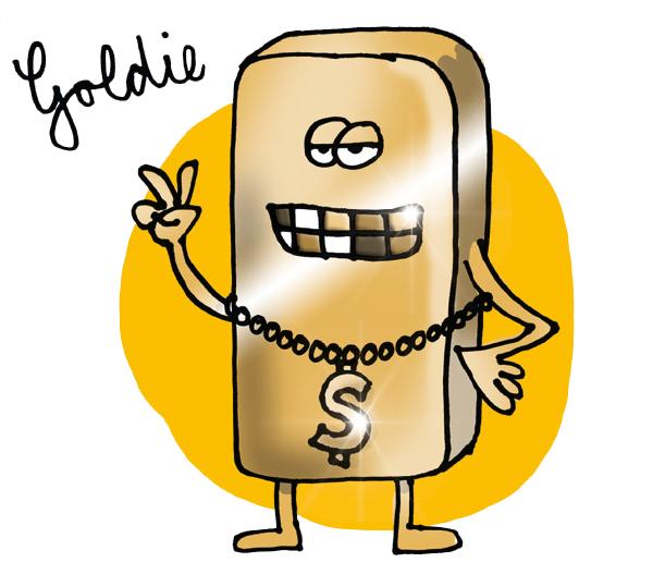 Gubis eher nicht so dolle DJ-Karikaturen: Goldie