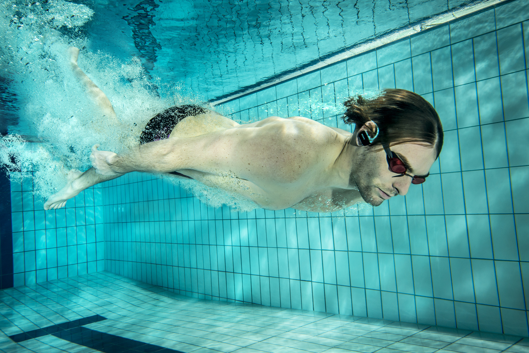 Sony Walkman NWZ-W273 – Unter der Wasseroberfläche …