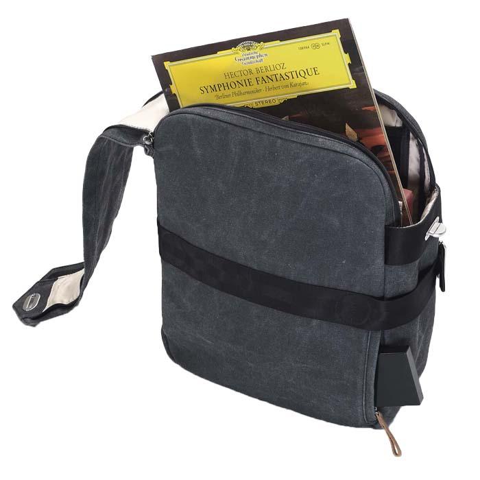 Drumpoet QWSTION Media Bag – Platten tragen mit Stil