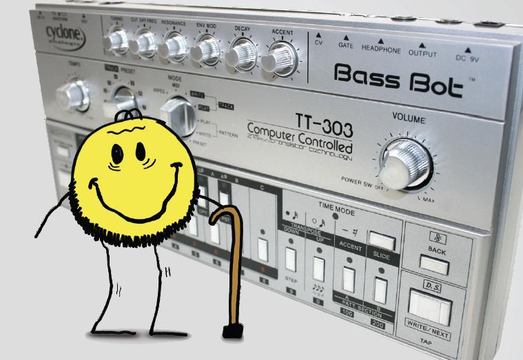 Cyclone Analogic TT-303 BassBot – Die Sauer-Sau