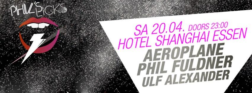 Phil Fuldner präsentiert am Samstag Phil's Licks mit Aeroplane