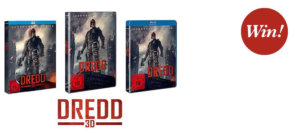 DREDD 3D – jetzt auf DVD und Blu-ray!