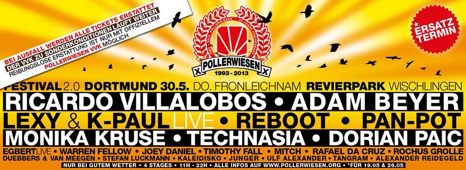 PollerWiesen Festival 2.0 verschoben auf den 30. Mai (Fronleichnam)