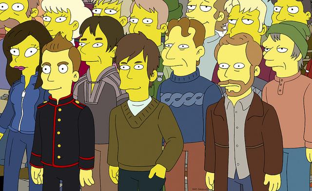 Die Simpsons treffen Sigur Rós