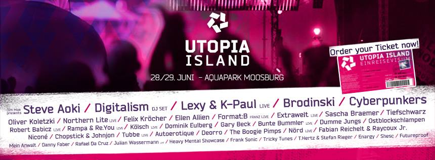 Feiern mit Freunden – Utopia Island Festival in Moosburg