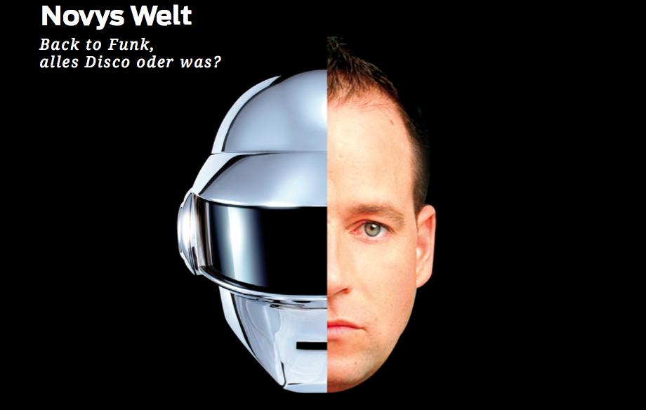 Novys Welt – Back to Funk, alles Disco oder was?
