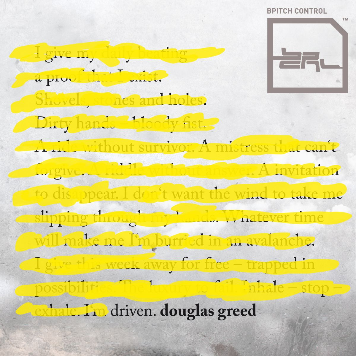 "Douglas Greed präsentiert ""Driven""-Remixe"