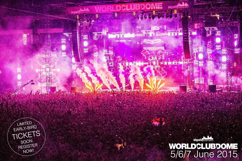 World Club Dome 2015 – jetzt an drei Tagen