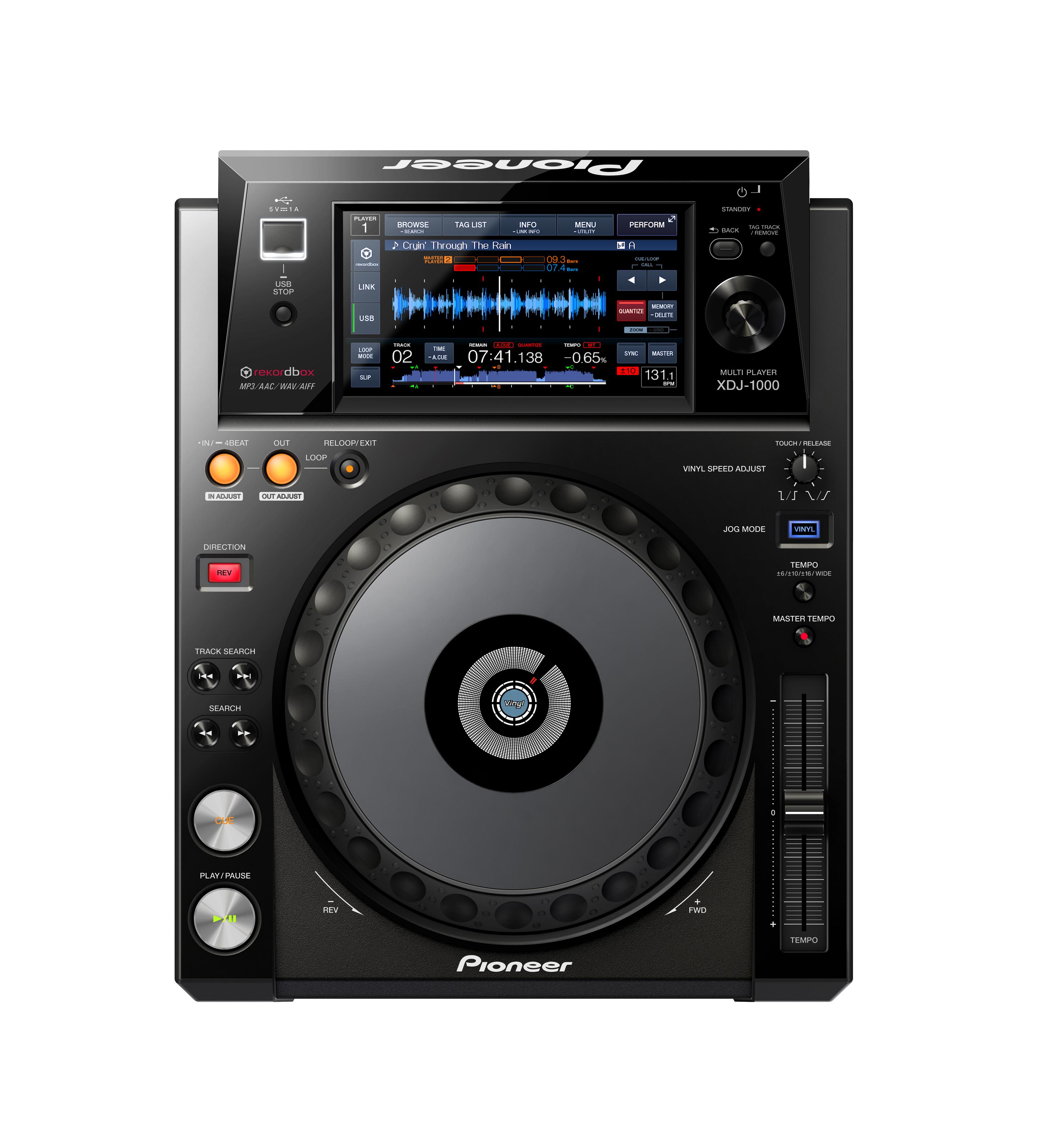 Digital DJs aufgepasst: Pioneer DJ stellt den XDJ-1000 vor