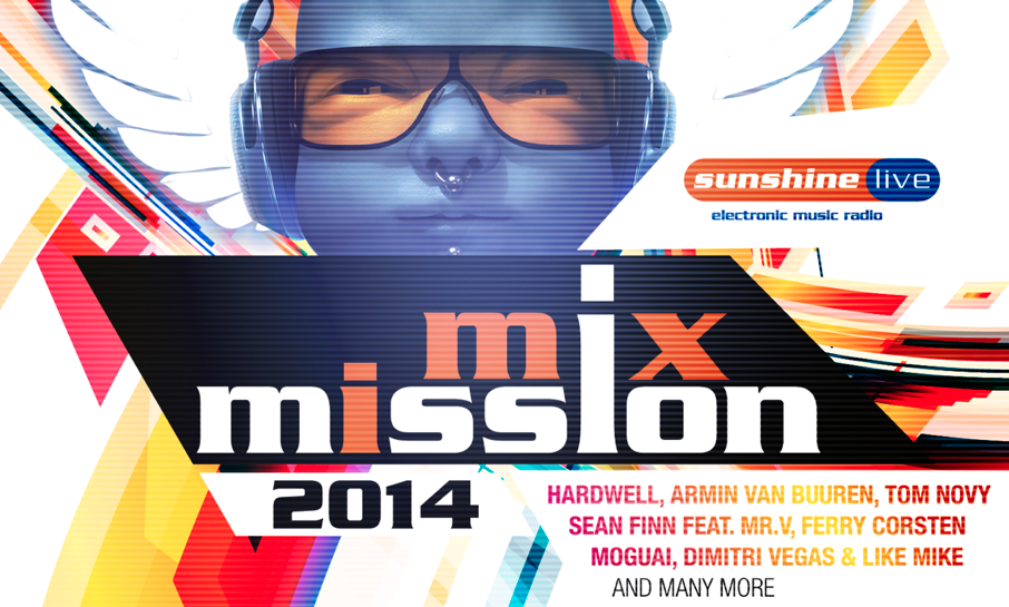 "Sunshine Live präsentiert ""Mix Mission 2014"""