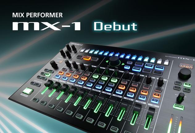 Der Neue in der Roland AIRA-Familie: MX-1 Mix Performer