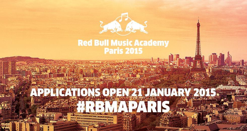 Die Red Bull Music Academy findet dieses Jahr in Paris statt