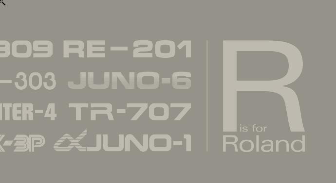 """""""R is for Roland"""" – Bildband über Synthesizer und Rhythmusmaschinen"""