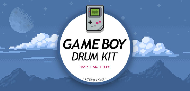 Game Boy Drum Kit – kostenloses Sample Kit von BPB