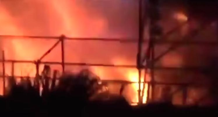 Taiwan: Schweres Unglück nach Explosion durch Farbpulver
