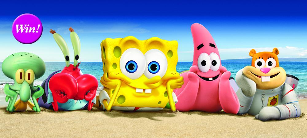 """Neu auf DVD/Bluray: """"SpongeBob Schwammkopf: Schwamm aus dem Wasser"""""""