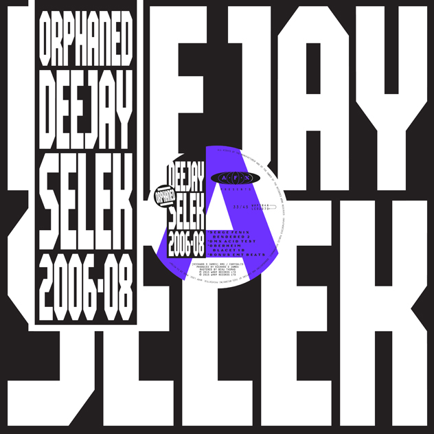 "Richard D James belebt AFX: ""orphaned deejay selek 2006-2008"""