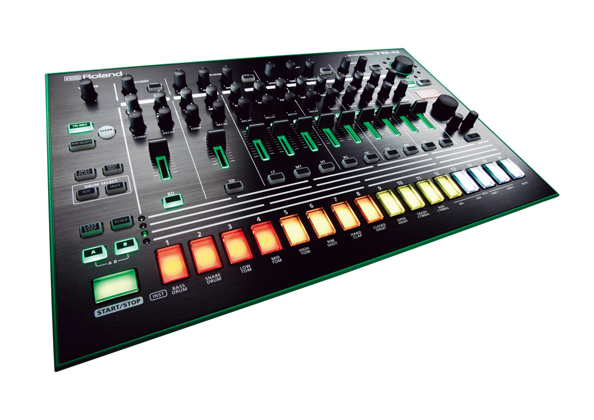 Heute ist 909Day – gewinne eine Roland TR-8!