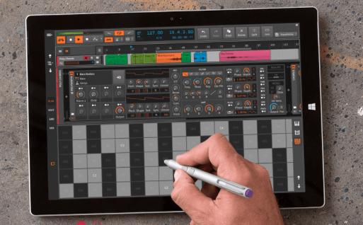 Bitwig Studios Version 1.3 bringt Touch-Kompatibilität