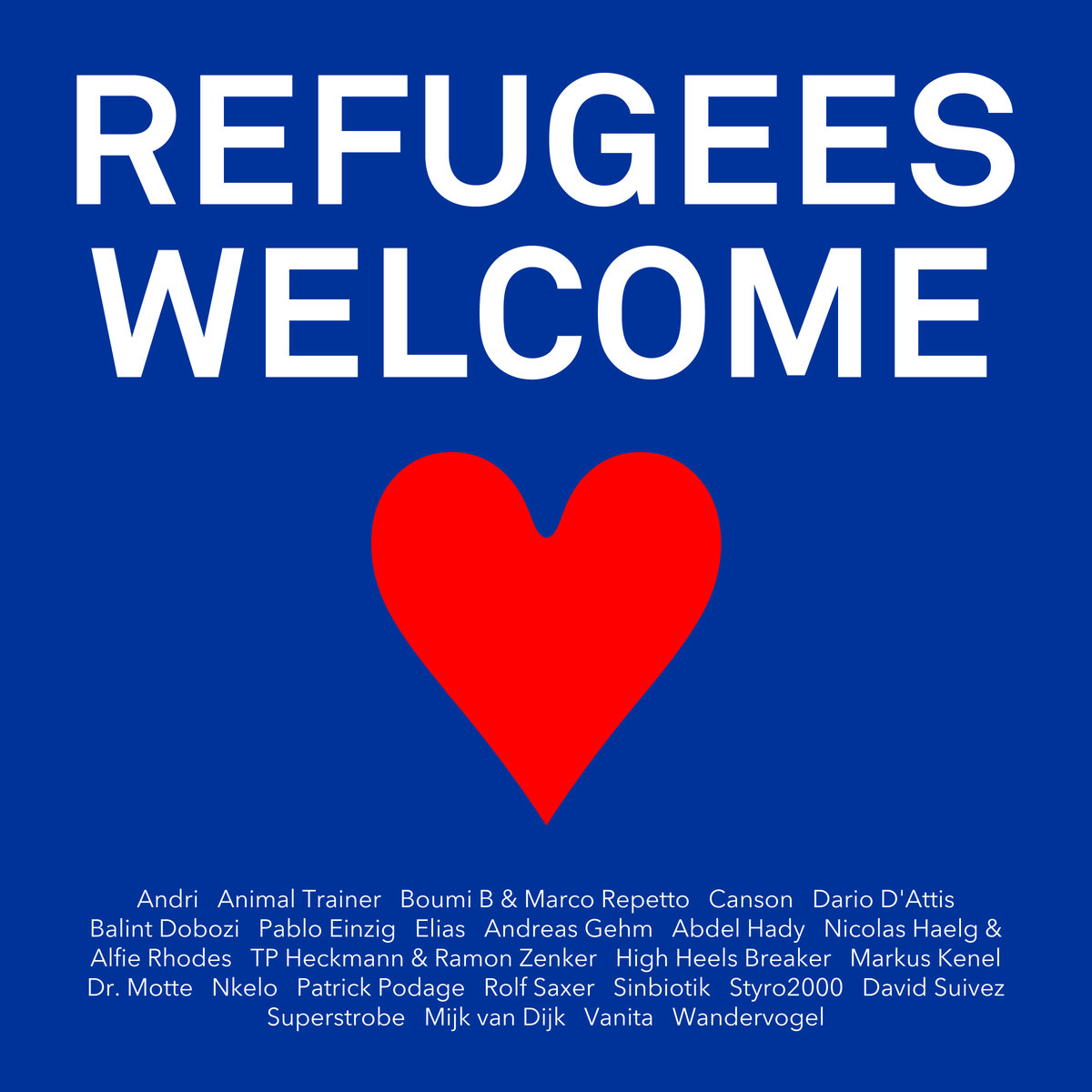 """Refugees Welcome"" – Benefiz-Compilation von Le Bal Records"
