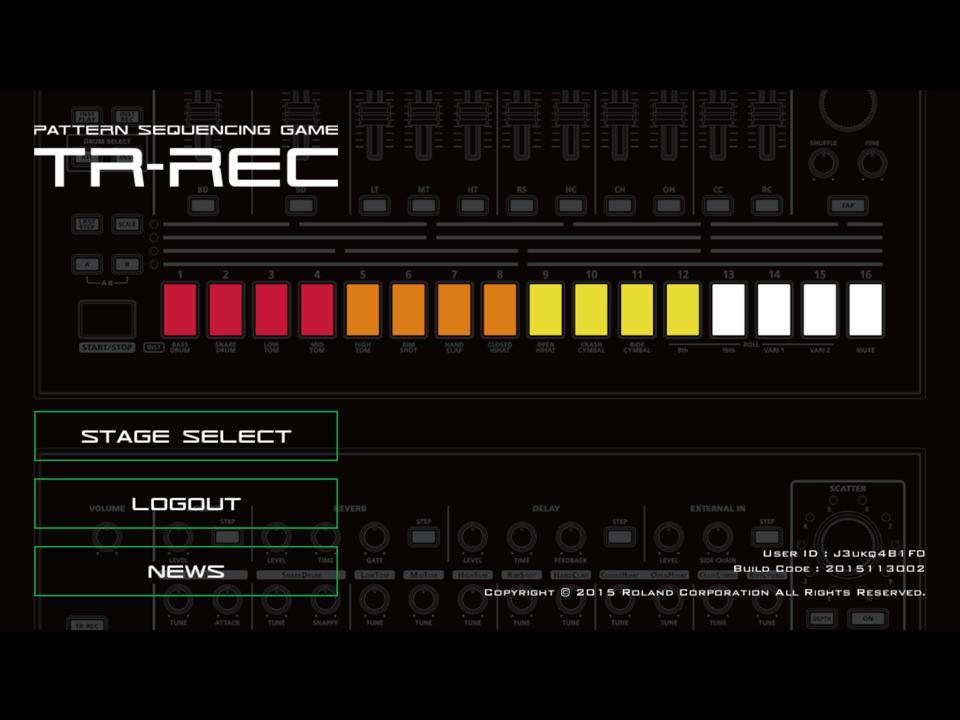 """Roland AIRA bietet Game-App für iOS und Android an: """"TR-REC"""""""