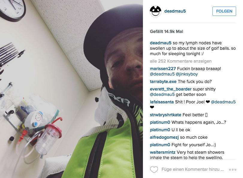 Deadmau5 – kein Krankenhaus hält ihn auf!