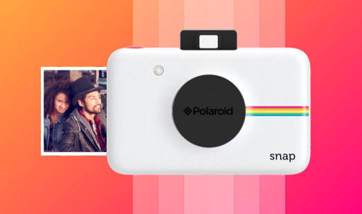 Polaroid Snap – Bild, sofort