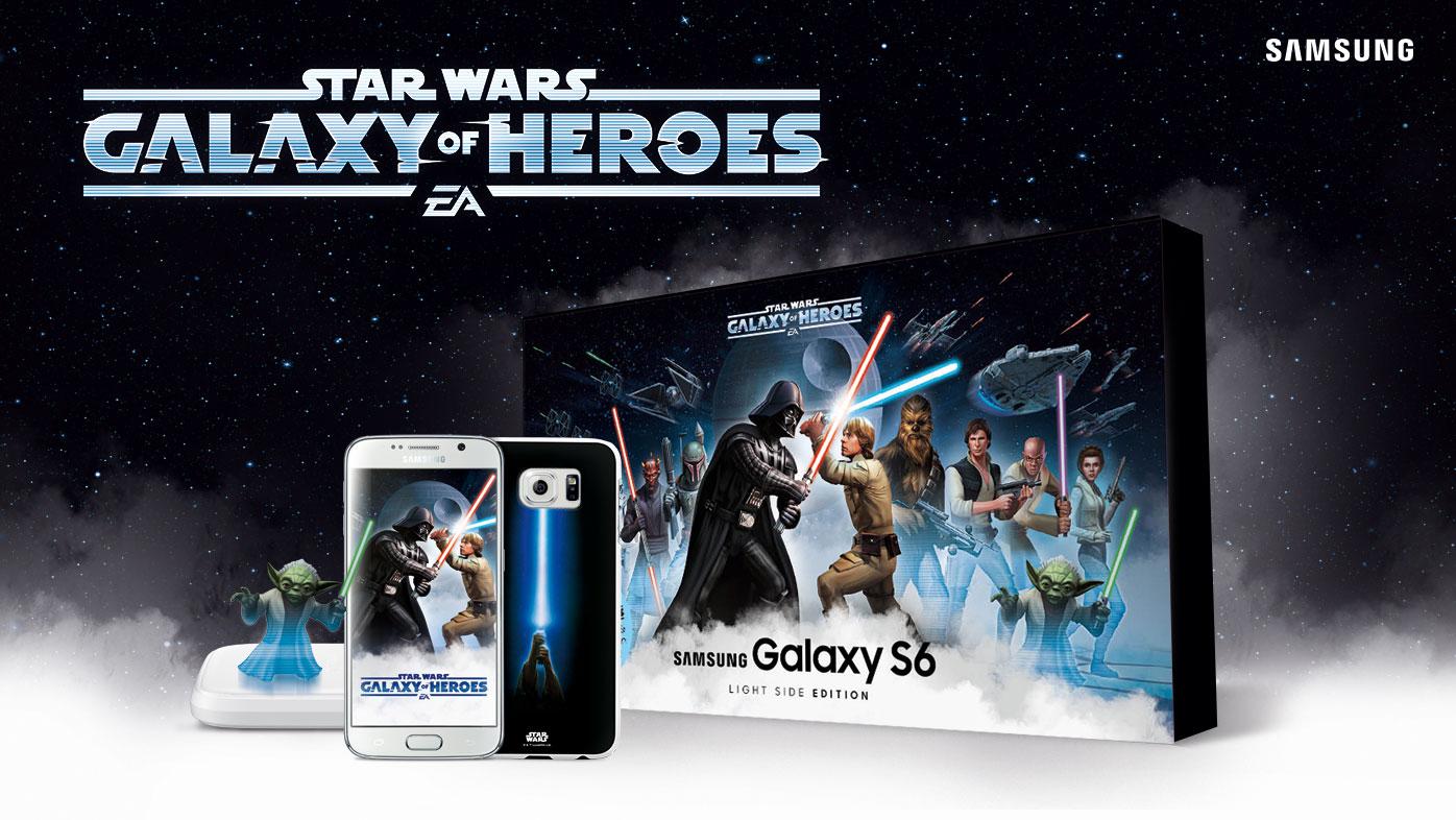 Star Wars meets Samsung Galaxy S6 – wir verlosen zwei Smartphones