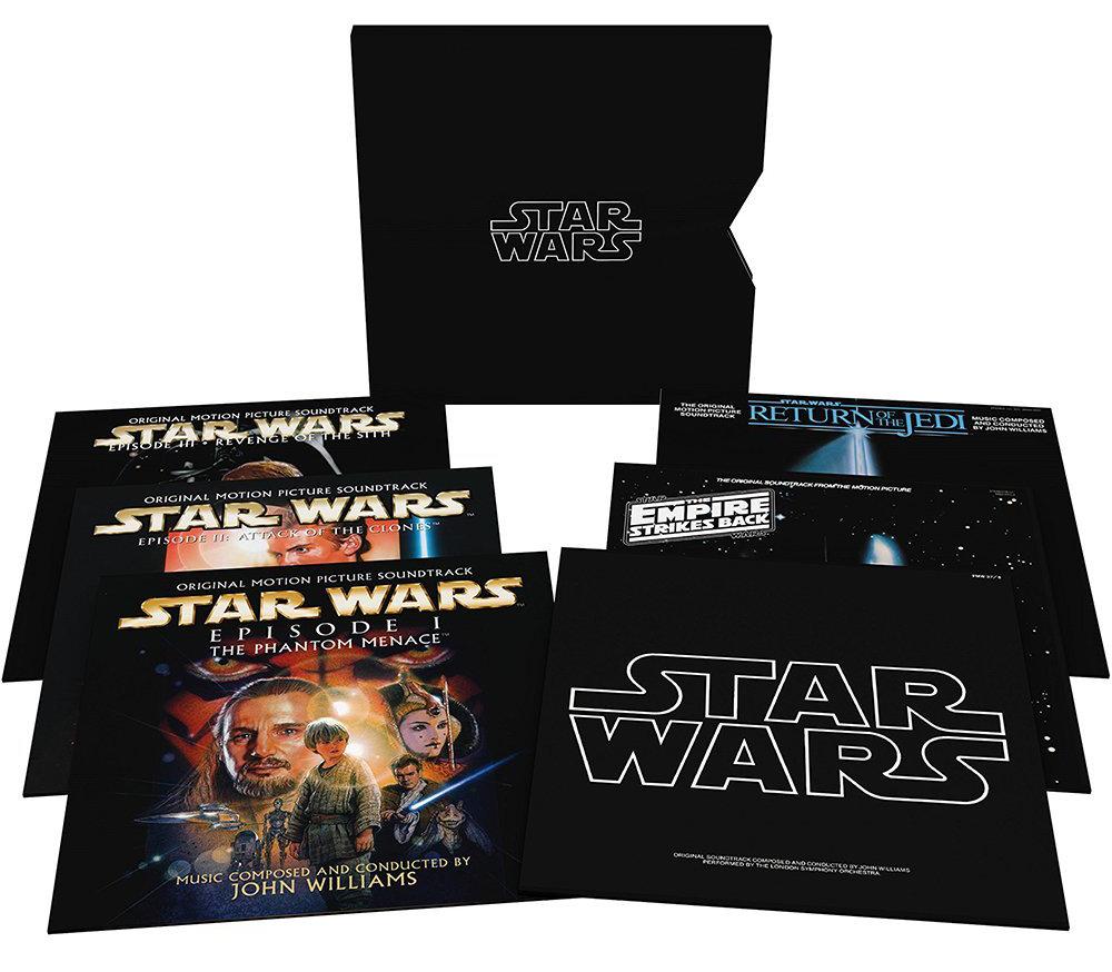 Star Wars Soundtrack (I-VI) wird auf Vinyl neu aufgelegt