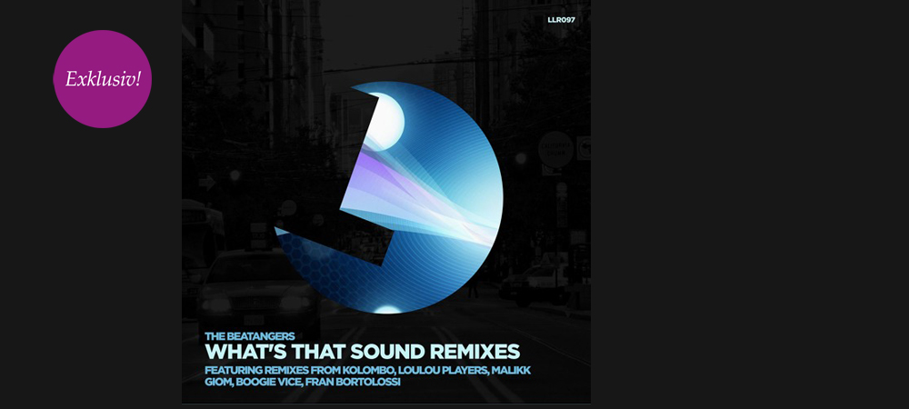 Exklusive Premiere: The Beatangers – What's That Sound (Kolombo Remix)