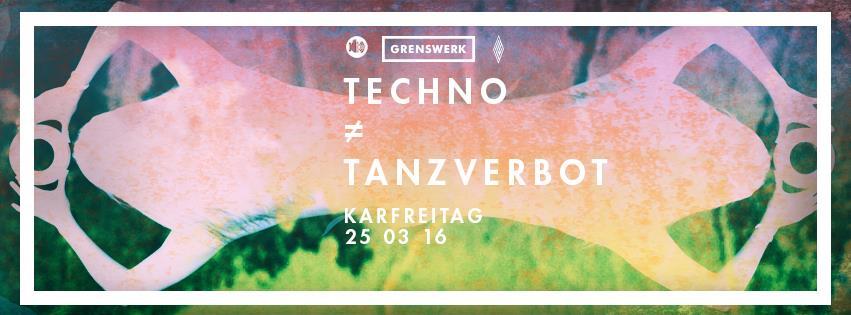 Techno ≠ Tanzverbot – Karfreitag in Venlo feiern