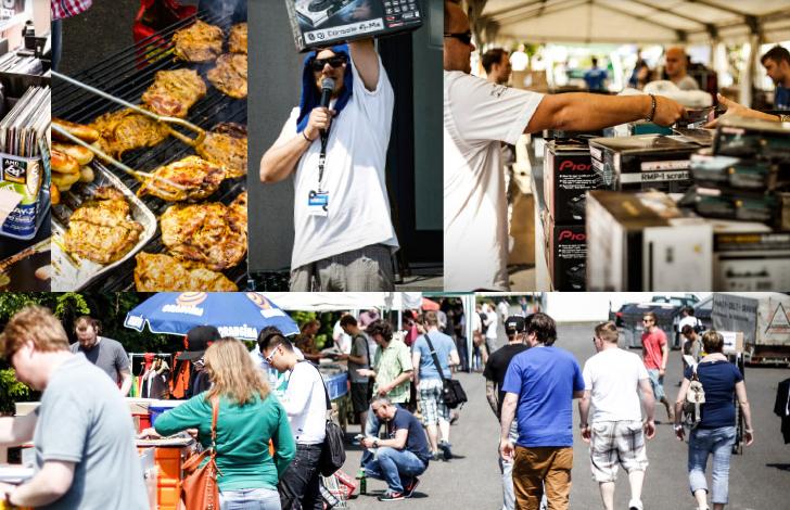 Anfang Juni findet der Elevator DJ Flohmarkt wieder statt