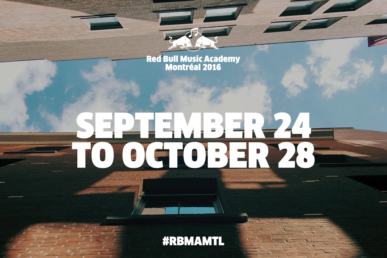 Red Bull Music Academy findet in diesem Jahr in Montréal statt