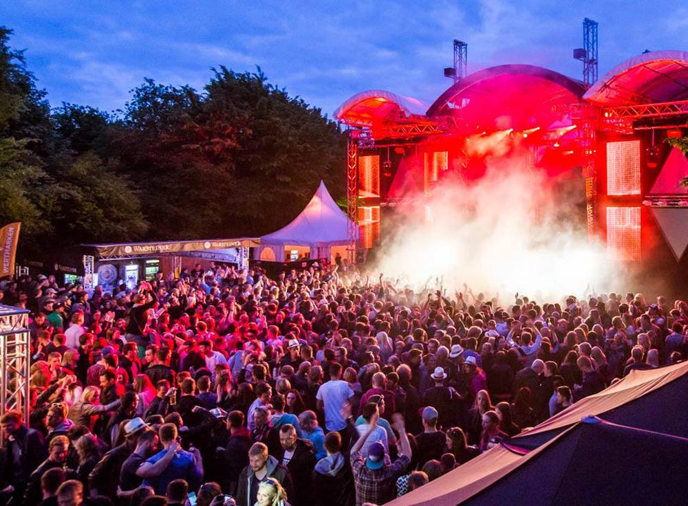 Strandfieber: das Elektro-Festival im hohen Norden