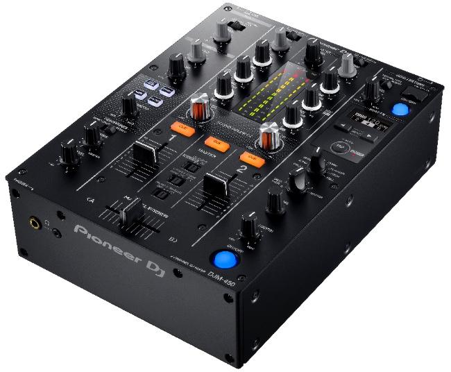 Pioneer stellt neuen Mixer DJM-450 vor