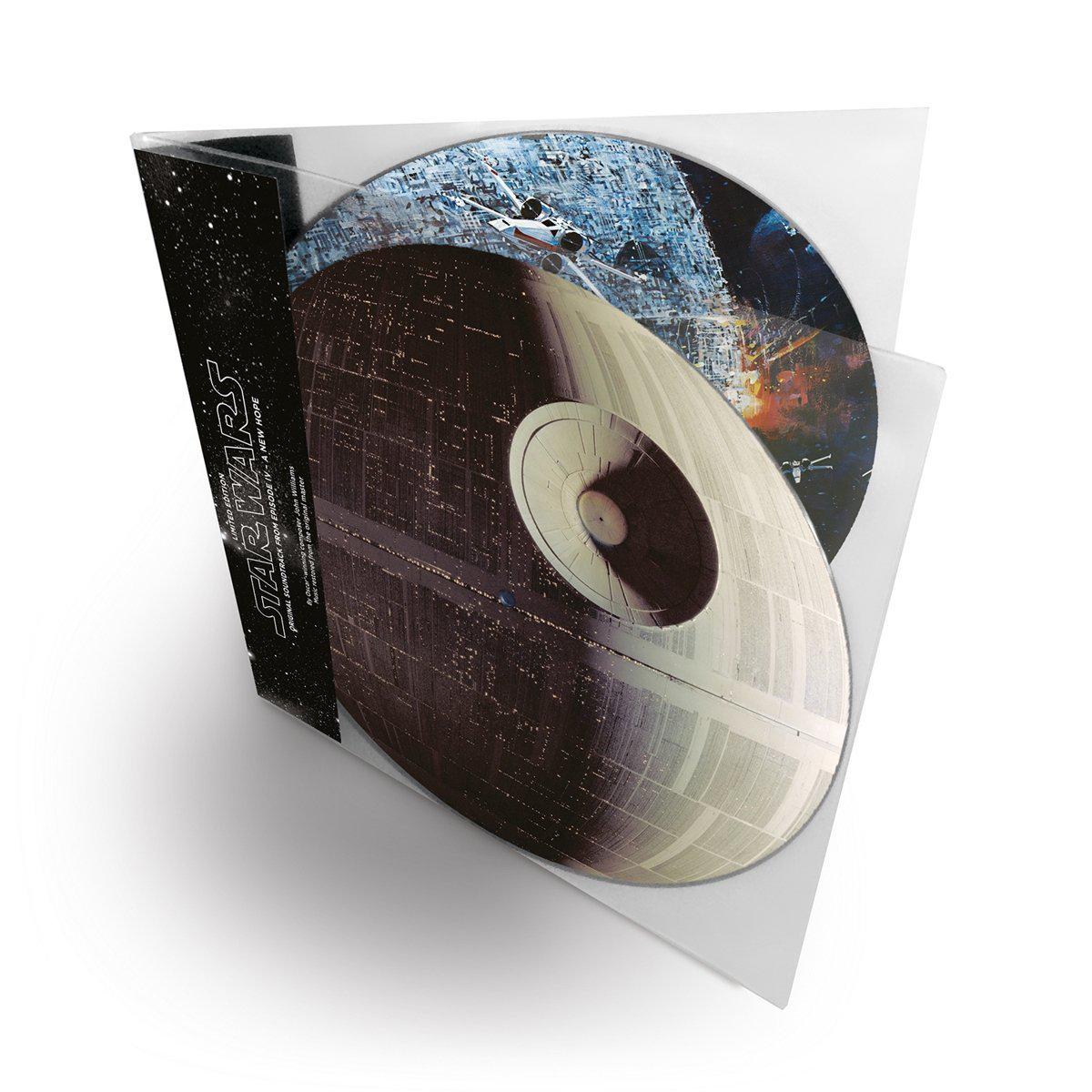 Soundtrack von Star Wars IV wird als Picture Disc neu aufgelegt