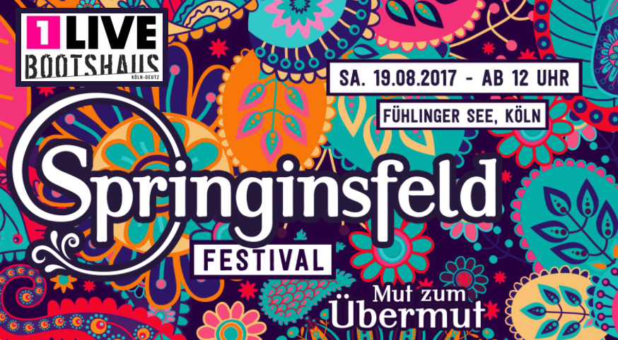 Springinsfeld Festival 2017 – Bass & House am Fühlinger See