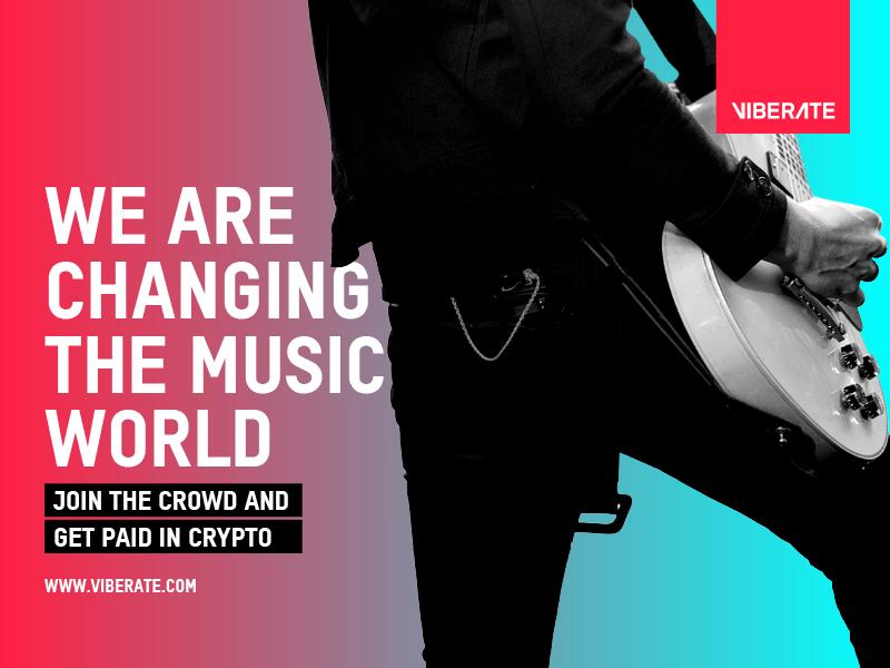 Viberate – Blockchain-betriebener Marktplatz für Musik