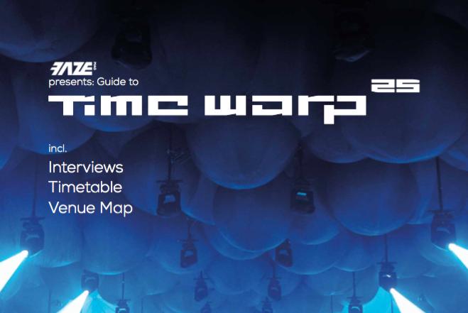 25 Jahre Time Warp –der Beileger als kostenloser Download