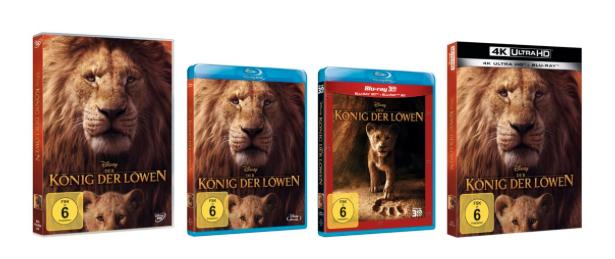 """Neu auf DVD & Blu-ray: """"König der Löwen"""" (Disney) – wir verlosen Fanpakete!"""